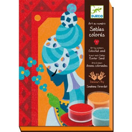6-11 Sables colorés - Djeco - Loisirs créatifs - 6-11 ans