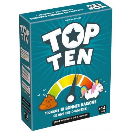 Top Ten - Cocktail Games - A partir de 8-10 ans - Jeux de société
