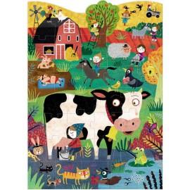 MOO ... Farm animals puzzle