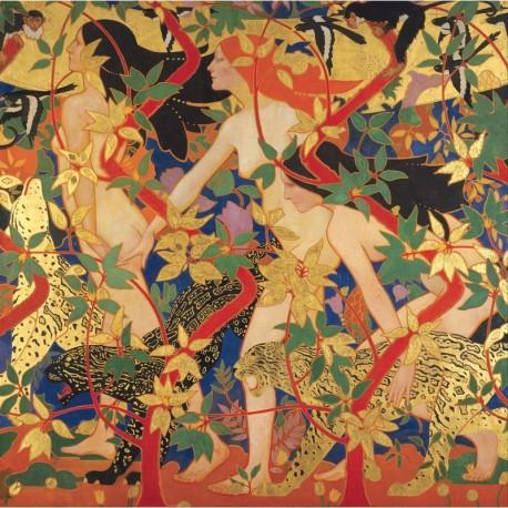 350 - Diane et sa Nymphe - Burns - Puzzles Michèle Wilson - Puzzles Wilson - Puzzles