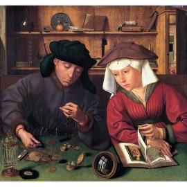 150 - Le prêteur et sa femme - Metsys
