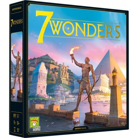 7 Wonders - Repos Production - Pour les 8 ans - Adultes - Jeux de société