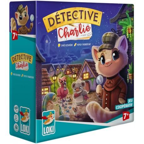 Détective Charlie - A partir de 5-6 ans - A partir de 8-10 ans - Jeux de société