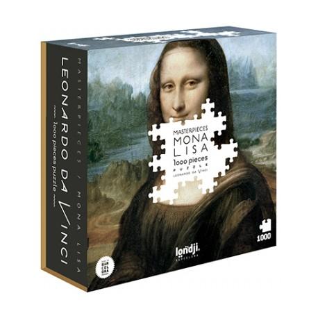 1000 - Mona Lisa - Londji - DE 100 à 1000 pièces - Puzzles