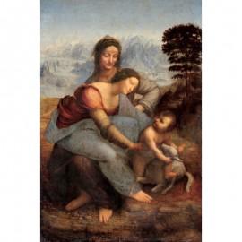 250- Vierge à l'enfant et SainteAnne