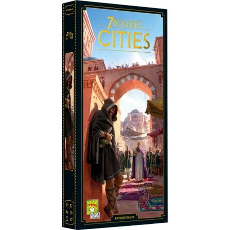 7 Wonders - Cities - Repos Production - Pour les 8 ans - Adultes - Jeux de société
