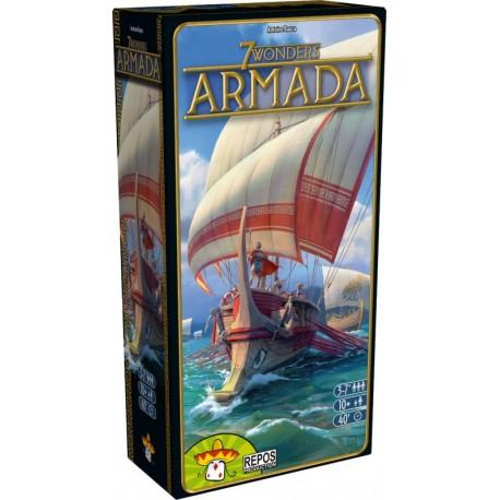 7 Wonders - Armada - Repos Production - Pour les 8 ans - Adultes - Jeux de société