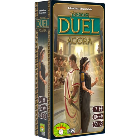 7 Wonders Duel - Agora - Repos Production - Jeux pour 2 joueurs - Pour les 8 ans - Adultes - Jeux de société