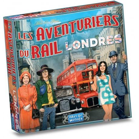 Aventuriers du Rail - Londres - Days of wonder - Pour les 8 ans - Adultes - Jeux de société