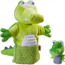 Marionnette Crocodile et son bébé