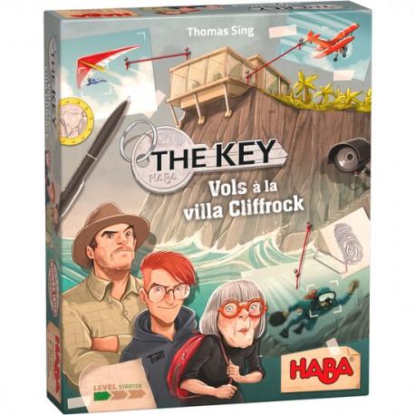 The Key – Vols à la villa Cliffrock - HABA - Jeux logiques - Pour les 8 ans - Adultes - Jeux de société