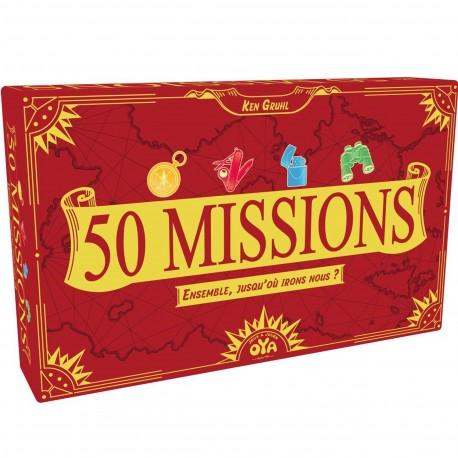 50 missions - OYA - Pour les 8 ans - Adultes - Jeux de société