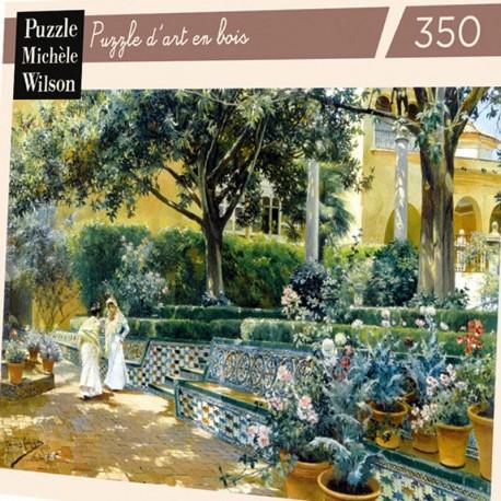 350 - Les jardins de l'Alcazar - Puzzles Michèle Wilson - Puzzles Wilson - Puzzles