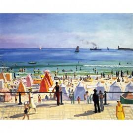 350 - La plage des Sables d'Olonne
