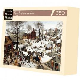 350 - le dénombrement de Bethleem / Bruegel
