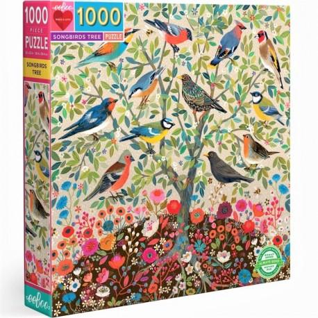 1000 Songbirds tree - DE 100 à 1000 pièces - Puzzles