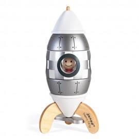 Fusée argentée