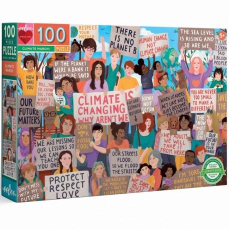 0100 Marche pour le climat - DE 100 à 1000 pièces - Puzzles