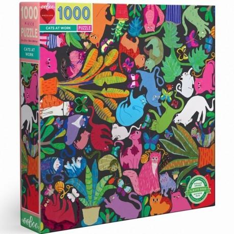 1000 Cats at work - DE 100 à 1000 pièces - Puzzles