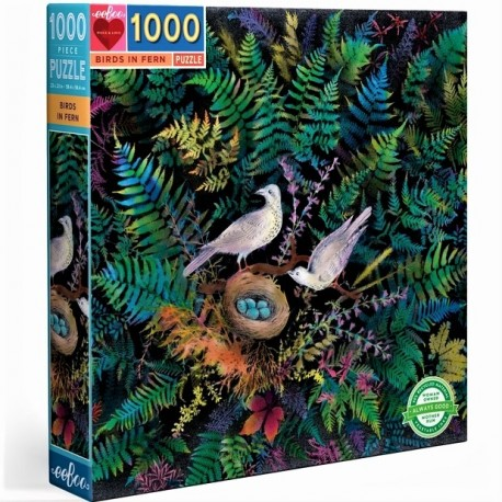 Birds in ferm - DE 100 à 1000 pièces - Puzzles