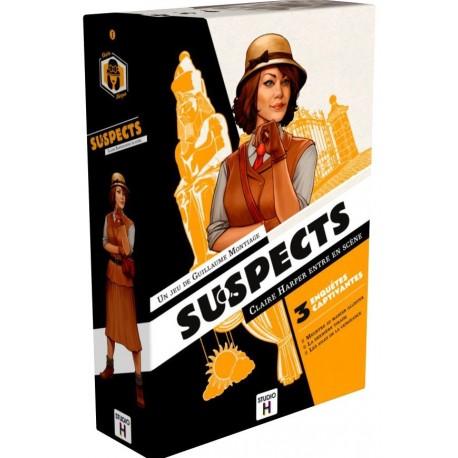 Suspects - Gigamic - Jeux coopératifs - Pour les 8 ans - Adultes - Jeux de société