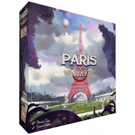 Paris 1889 - Jeux coopératifs - Pour les 8 ans - Adultes - Jeux de société