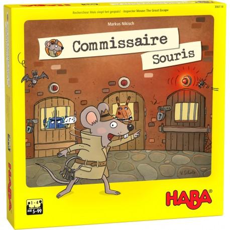 Commissaire Souris - HABA - Pour les 5-8 ans - Jeux de société