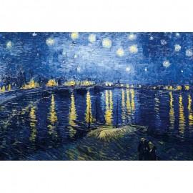 150 - Nuit étoilée sur le Rhône / Van Gogh