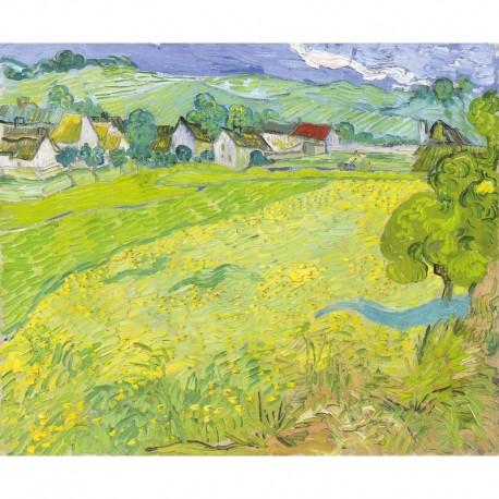 0350 - Les Vessenots près d'Auvers - Van-Gogh - Puzzles Michèle Wilson - Puzzles Wilson - Puzzles