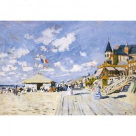 0250 Sur les planches de Trouville - Monet