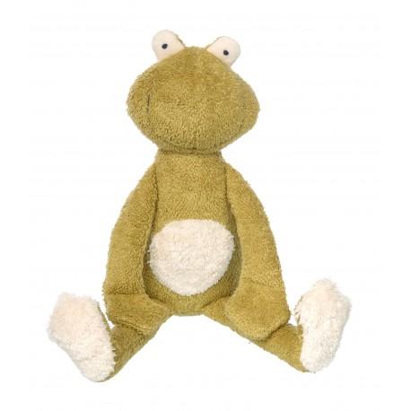 Grenouille Pantin Green - Sigikid - Jouets tissu et peluches - Les tout-petits
