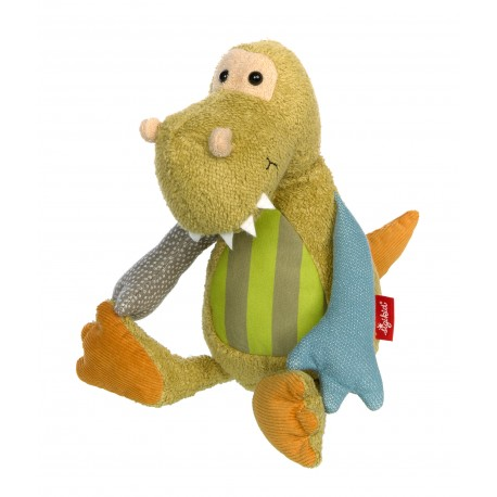 Dino Patchwork Sweety - Sigikid - Jouets tissu et peluches - Les tout-petits