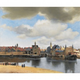 1000 - Vue de Delft - Vermeer