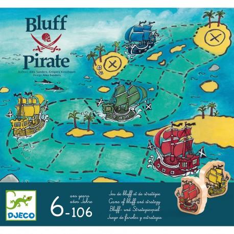Bluff Pirate - Pour les 5-8 ans - Pour les 8 ans - Adultes - Jeux de société