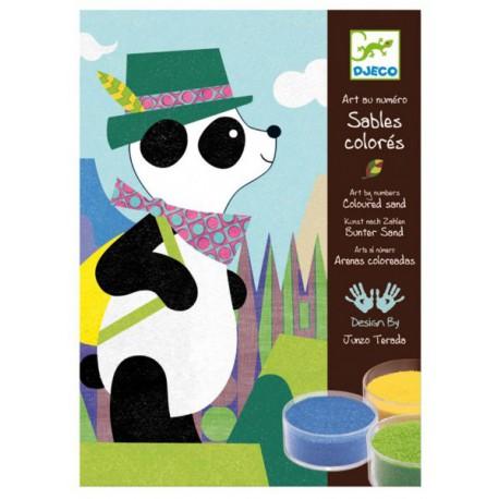 4-8 Sables colorés - Djeco - 4-8 ans - Loisirs créatifs