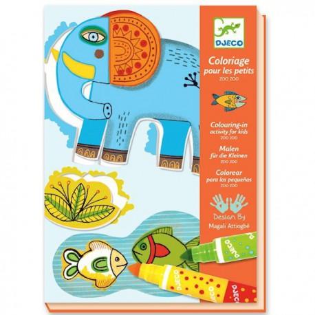 3-6 Coloriage - Djeco - 3-6 ans - Loisirs créatifs