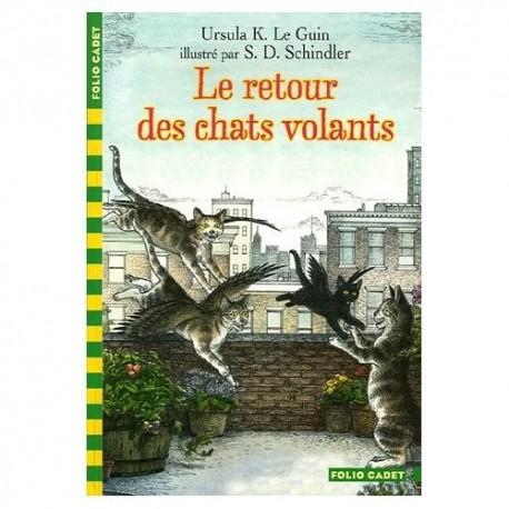 Chats volants 2 - GALLIMARD / Folio cadet - Lectures 6-10 ans - Livres jeunesse