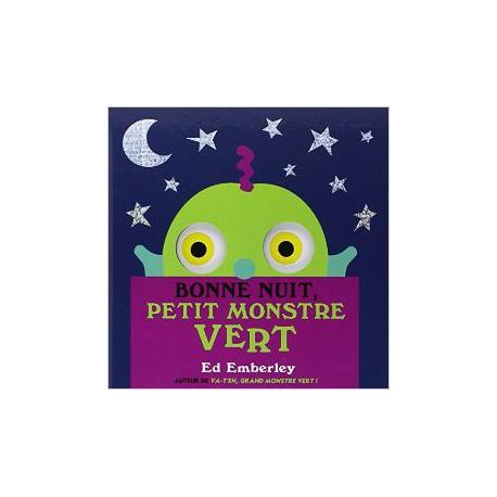 Bonne nuit petit monstre vert! - KALEIDOSCOPE - Livres tout-carton - Livres jeunesse