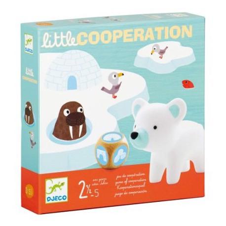 Little coopération - Djeco - Jeux de société - Pour les petits (2-4 ans)
