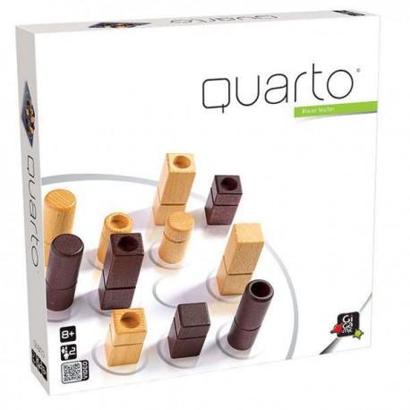 Quarto Classic - Gigamic - A partir de 8-10 ans - Jeux de société - Jeux en bois
