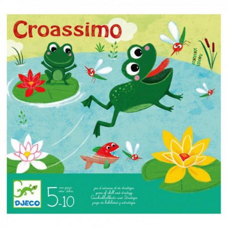 Croassimo - Djeco - Jeux d'adresse - Jeux de société - Pour les enfants (5-7 ans)