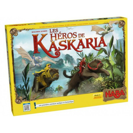 Héros de Kaskaria - HABA - Jeux de société - Pour les enfants (5-7 ans)