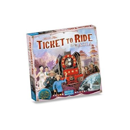 Aventuriers du rail - Asia - Days of wonder - Jeux de société - Pour tous (8 ans - Adulte)