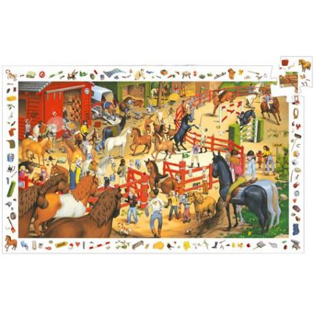 200 Equitation - Djeco - DE 100 à 500 pièces - Puzzles