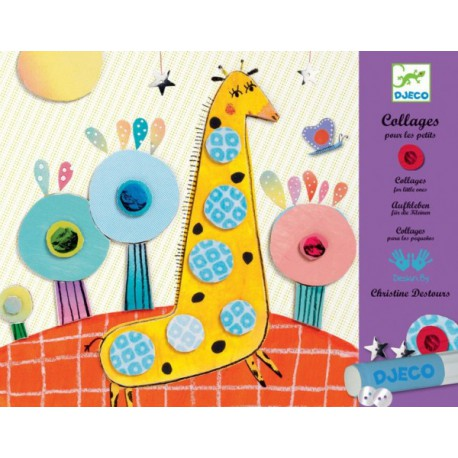 3-6 Collage - Djeco - 3-6 ans - Loisirs créatifs