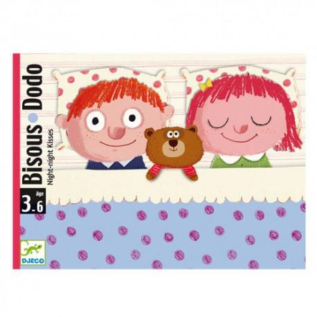 Bisous Dodo - Djeco - Jeux de société - Pour les petits (2-4 ans)