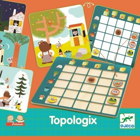 Topologix - Djeco - Jeux logiques