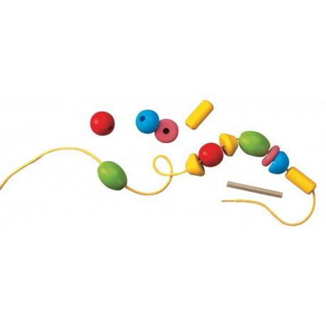 Perles Bambini - HABA - Jouets en bois  - Empiler Assembler