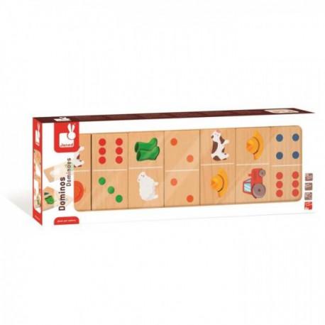 Dominos - Janod - Pour les petits (2-4 ans) - Pour les enfants (5-7 ans)