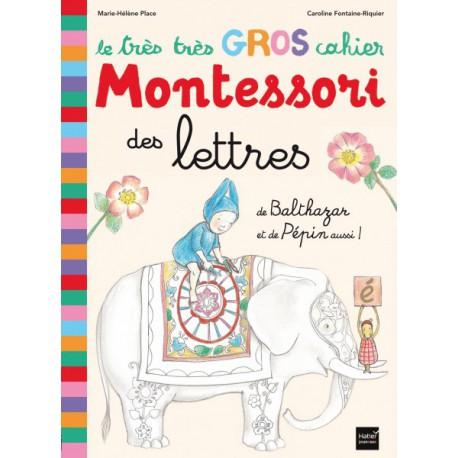 *Cahier des lettres - HATIER - Pédagogie Montessori - Livres jeunesse